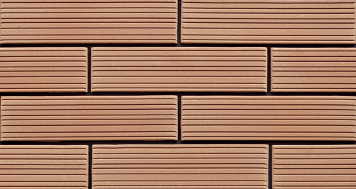Strip Line Terracotta Clay Bricks for Exterior Wall