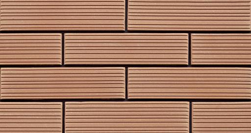 Strip Line Terracotta Clay Bricks for Exterior Wall