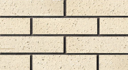White Color Outdoor Wall Clay Split Brick