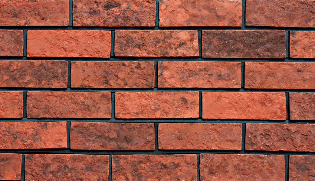 Red Color Split Face Clay Brick