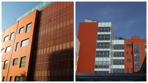 LOPO terracotta panel applied in educational institution (1)