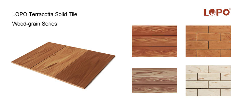 Introduction About LOPO Wood-Grain Series Terracotta Panels