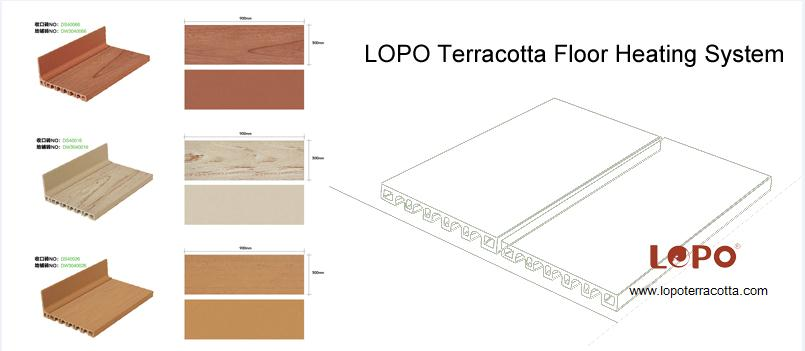 LOPO Terracotta Floor Heating System Gets 12 Patents