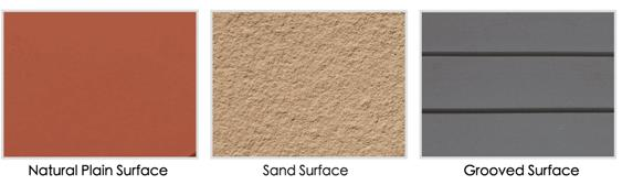 Textured surface of lopo terracotta facade panel (1)