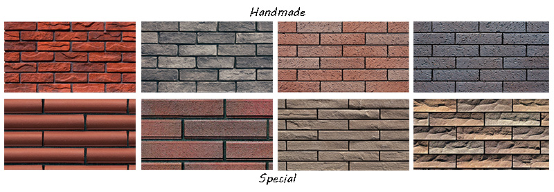 The Textures of LOPO Terracotta Brick Tile