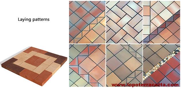 Schönes architektonisches Dekorationsmaterial für den Boden