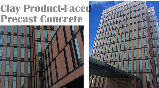 LOPO Clay Thin Brick Faced Precast Concrete