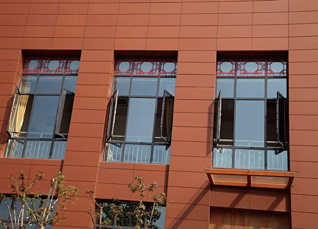 LOPO Terracotta Panel Apply in Education Buildings