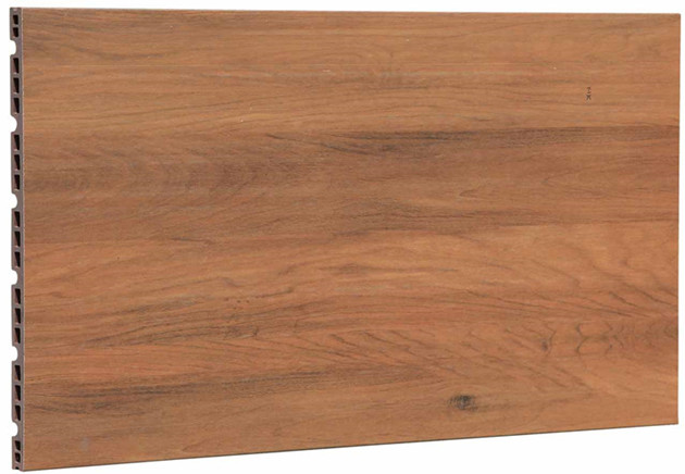Natural Clay Wood Design Exterior Facade Panels