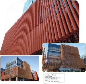 Variety Fixing Methods for Terracotta Baguettes Louvers