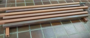 Newest Promote Product Fambe Color Terracotta Louver