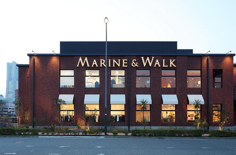 Clay Tiles Project in Japan— Marine & Walk Yokohama