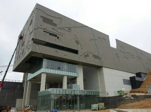 The range application of Terracotta Panel Curtain Wall