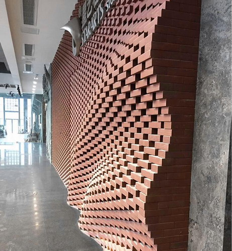 Progetto LOPO Clay Wall Bricks in Cina